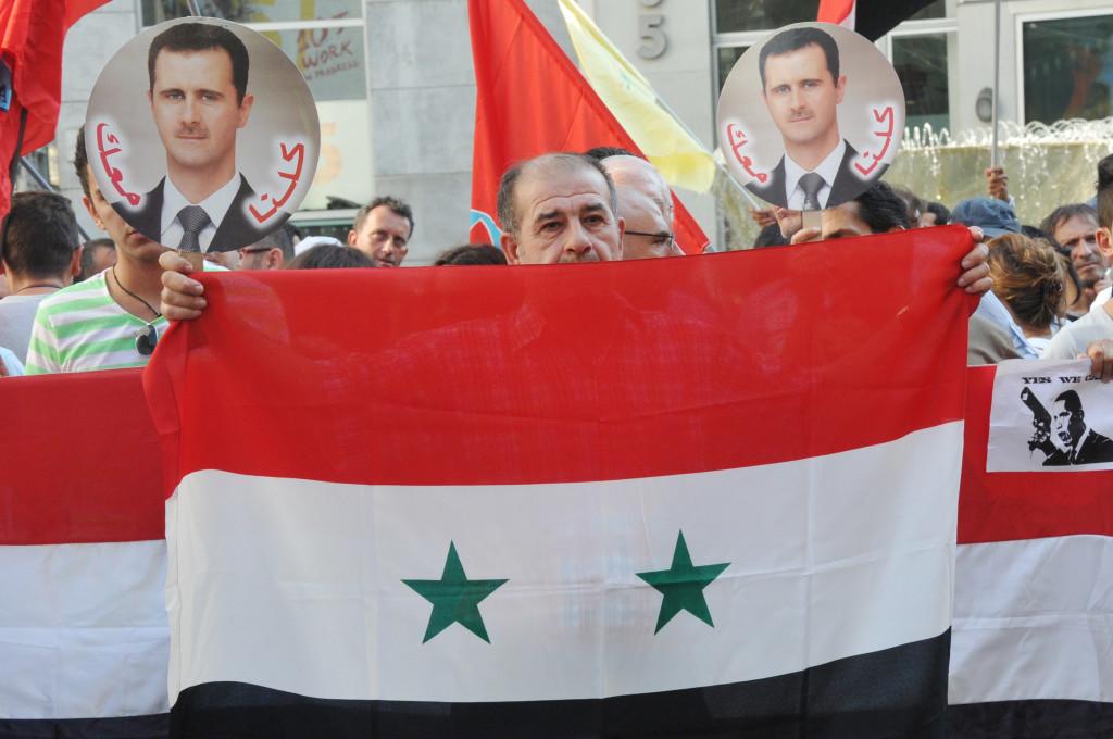 Manifestazione Siria