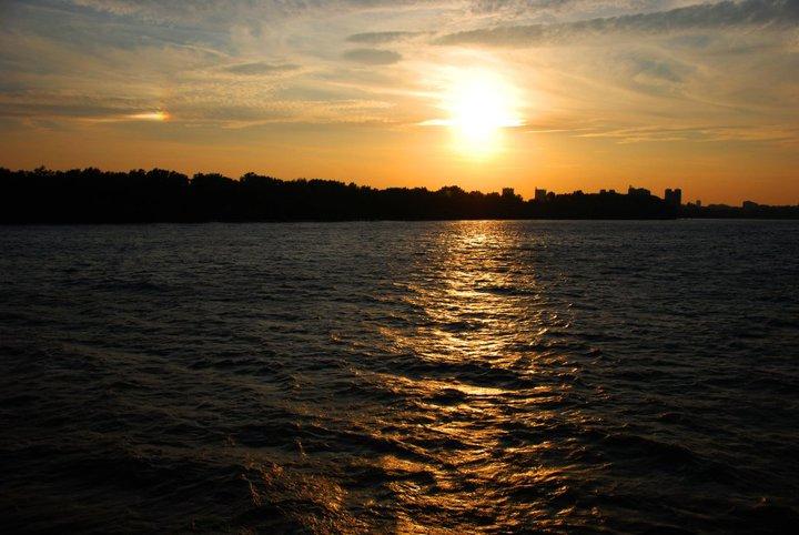 tramonto belgrado