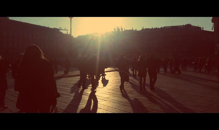 Tramonto Piazza Duomo