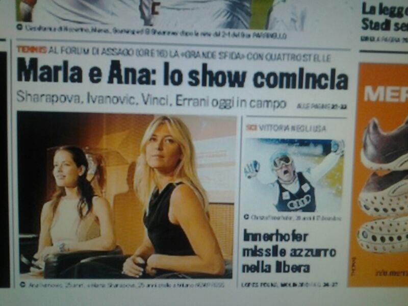Gazzetta dello Sport, Prima Pagina!