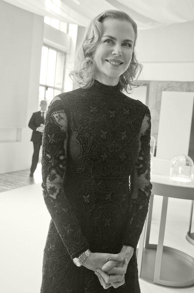 Nicole Kidman a Milano per Omega