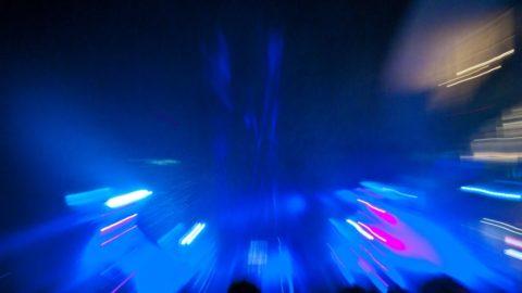 Milano Orgasmica: Laser Show in Piazza Gae Aulenti